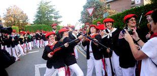 Post de Tensión en Hondarribia por el desfile de la compañía mixta en el Alarde