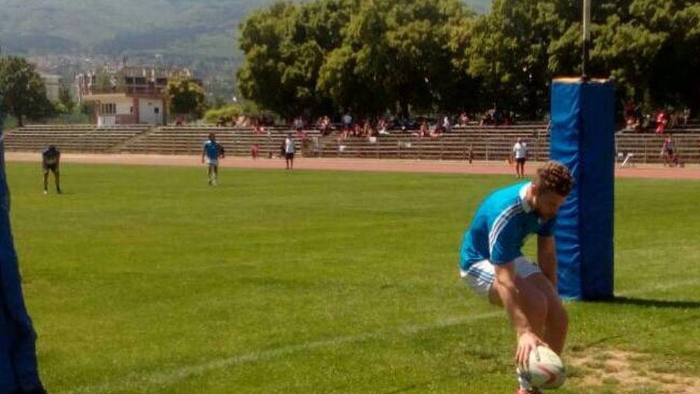 Los bomberos que aspiran al mejor torneo internacional de rugby en España