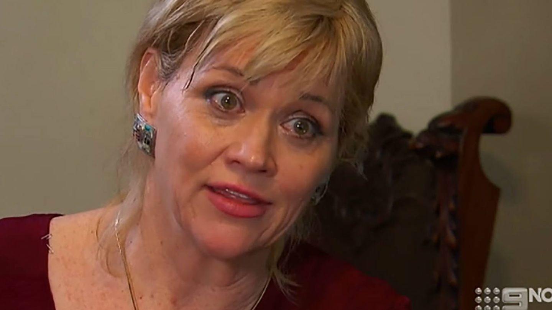 Samantha Markle, en una aparición en el canal australiano Channel 9.