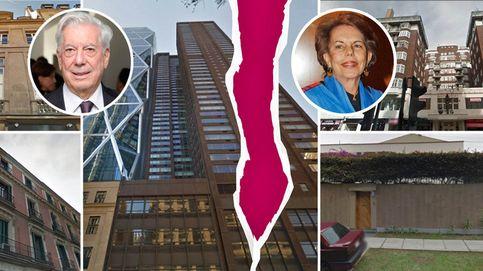 Mario Vargas Llosa y Patricia reparten su ingente patrimonio inmobiliario