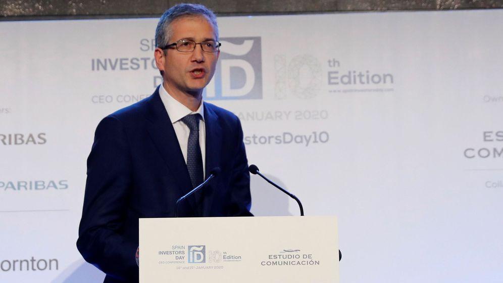 Foto: El gobernador del Banco de España, Pablo Hernández de Cos, en una imagen de archivo. (EFE)