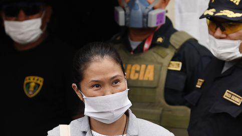 Keiko Fujimori sale en libertad bajo fianza por el riesgo de contagio del coronavirus