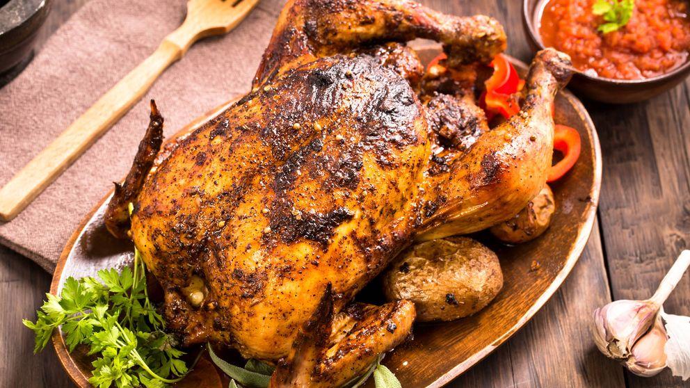 La receta para que el pollo al horno te quede como dios manda