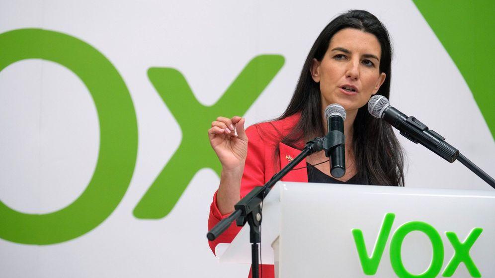 Foto: La candidata de Vox a la Comunidad de Madrid (Efe)