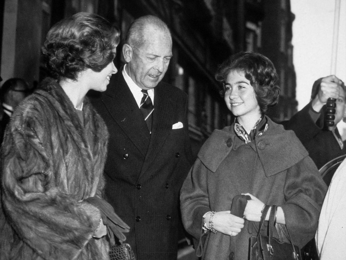 Foto: El rey Pablo y su hija, la reina Sofía. (Cordon Press)