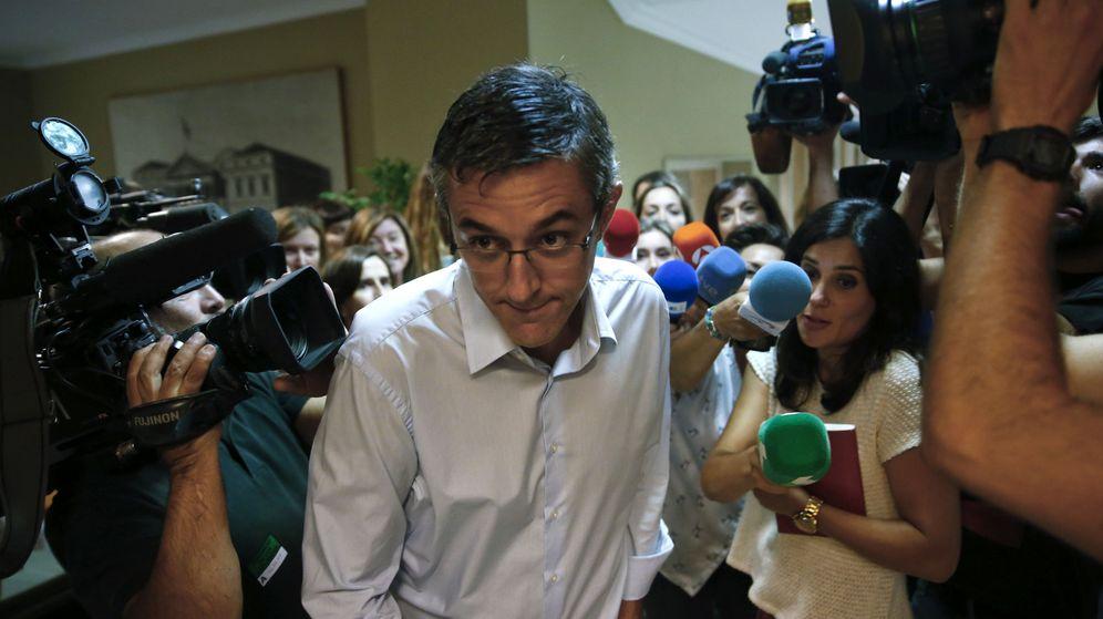 Foto: El diputado socialista Eduardo Madina a su llegada a la reunión de la ejecutiva federal del PSOE. (Efe)