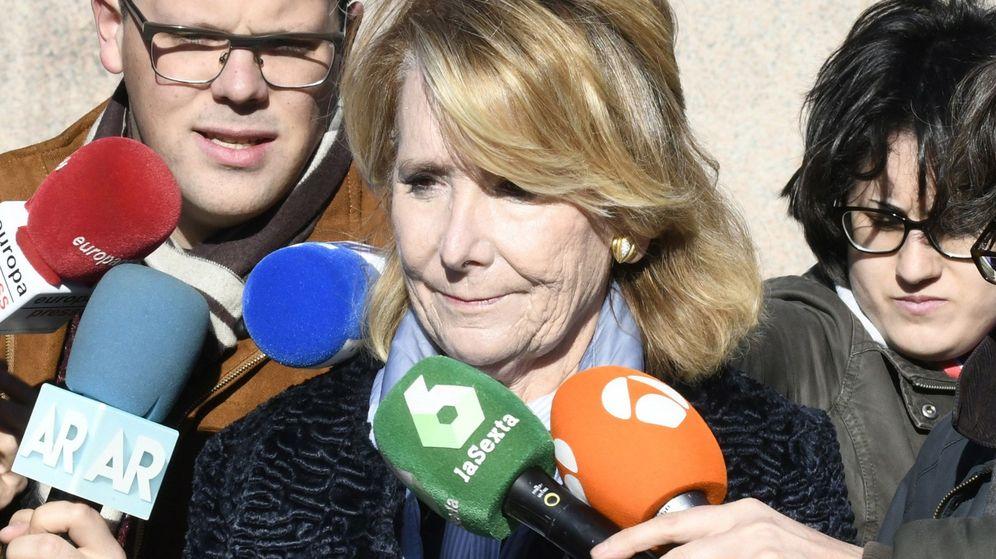 Foto: La expresidenta de la Comunidad de Madrid Esperanza Aguirre (Efe)