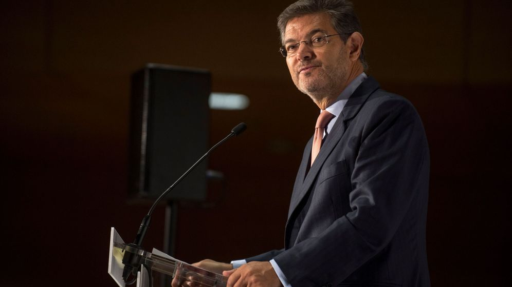 Foto: El ministro de justicia, Rafael Catalá, descarta que Puigdemont pueda encontrar asilo en Bélgica. (EFE)