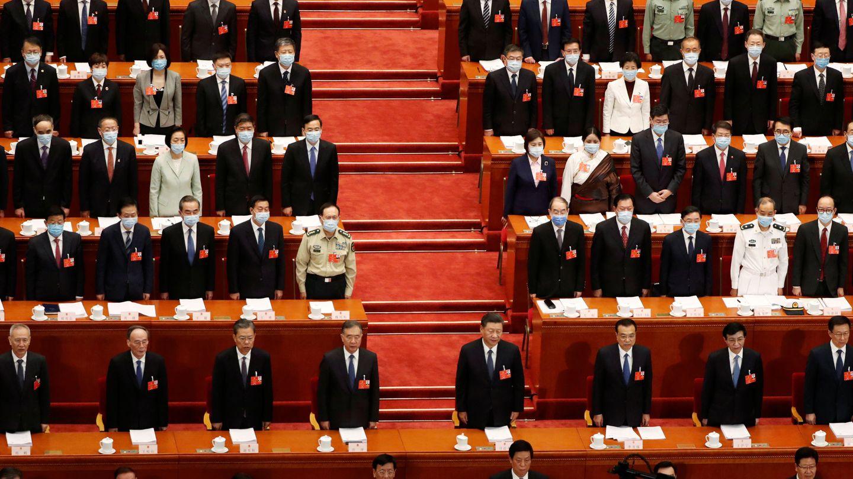 La sesión inaugural de la Asamblea Nacional Popular. (Reuters)