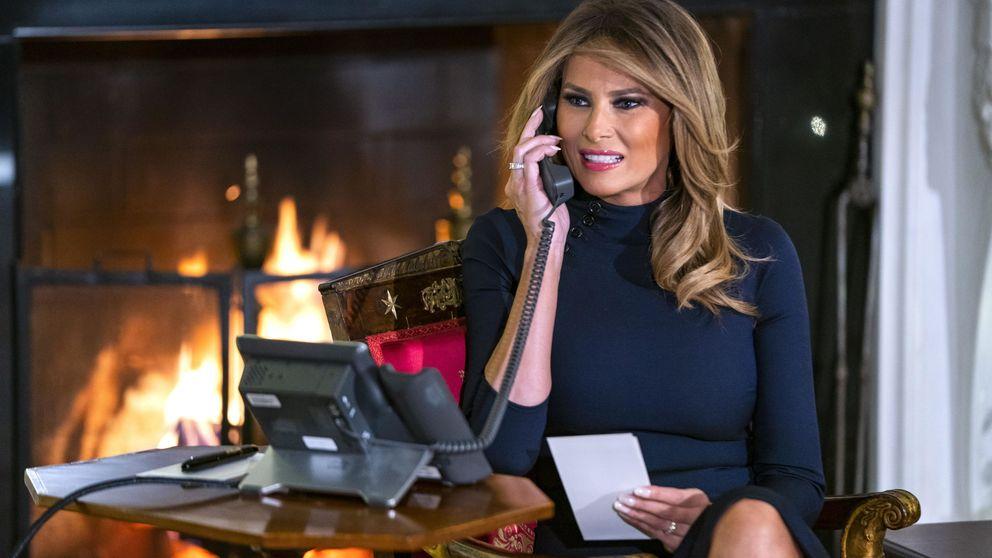 Melania Trump: las dos personas a las que no puede dejar de ver cada mes