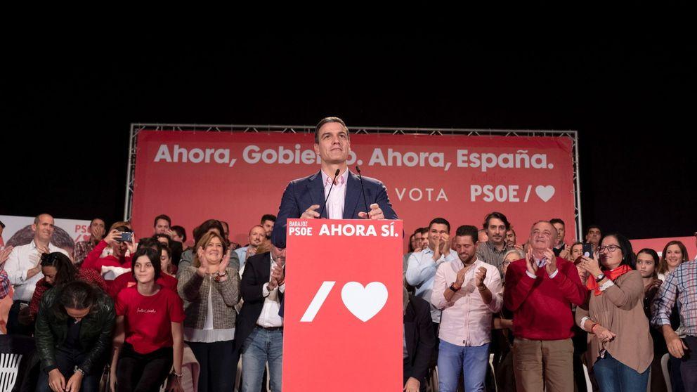 Sánchez cierra la puerta a las coaliciones y aspira a que el PP y Cs se abstengan