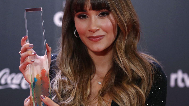 Aitana en los Premios Odeón. (EFE)