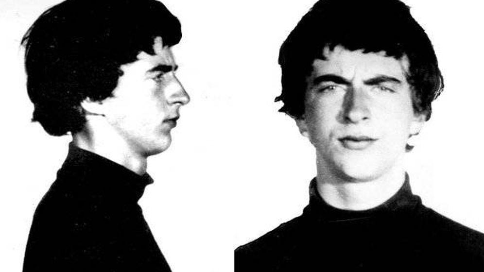 Foto: Ficha policial de Stuart Christie de 1964.