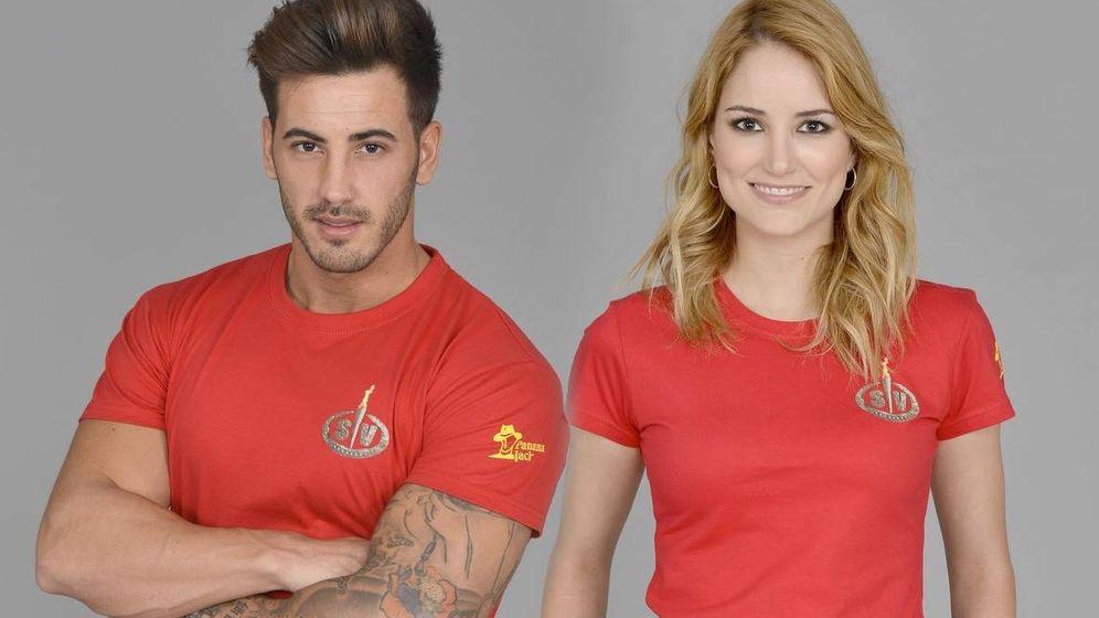 Foto: Iván González y Alba en una imagen de archivo. (Telecinco)