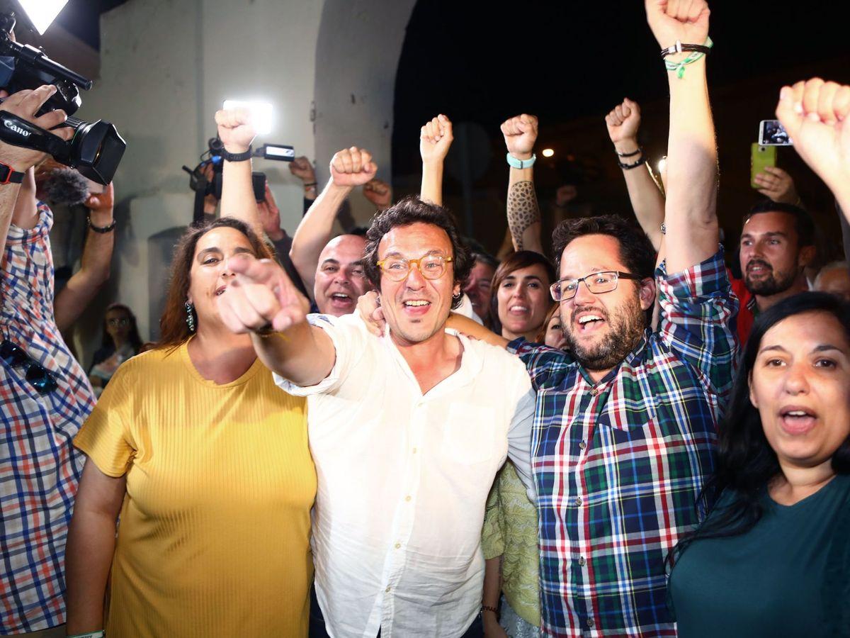 """Foto: El alcalde de Cádiz, José María González, """"Kichi"""" (c). (EFE)"""