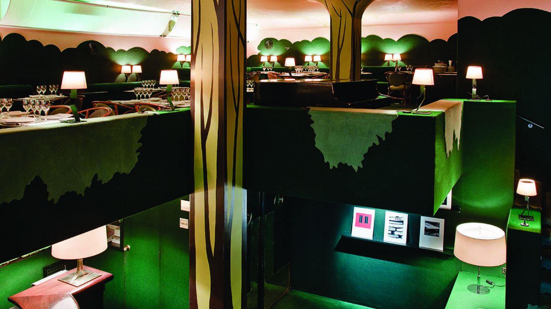 Restaurante Il Giardinetto, premio FAD por su diseño ajardinado. (Cortesía)