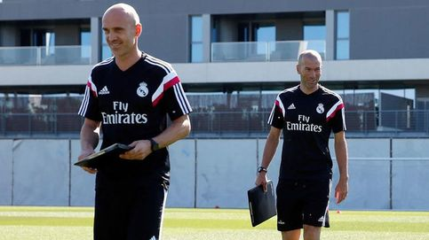 Zidane no tiene segundo entrenador y el que ejerce tampoco podría serlo