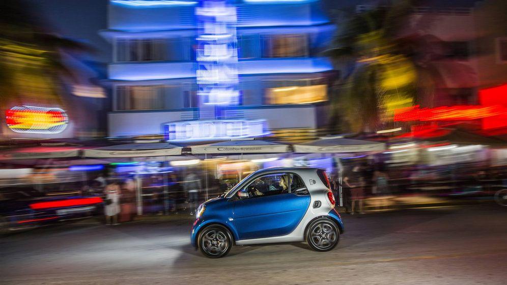 Foto: Por las calles de Miami con el Smart eléctrico
