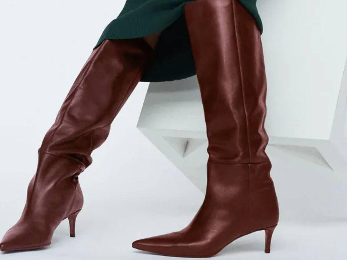 Foto: Las nuevas botas de Zara. (Cortesía)