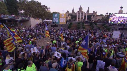 Acto final de campaña del independentismo en Barcelona