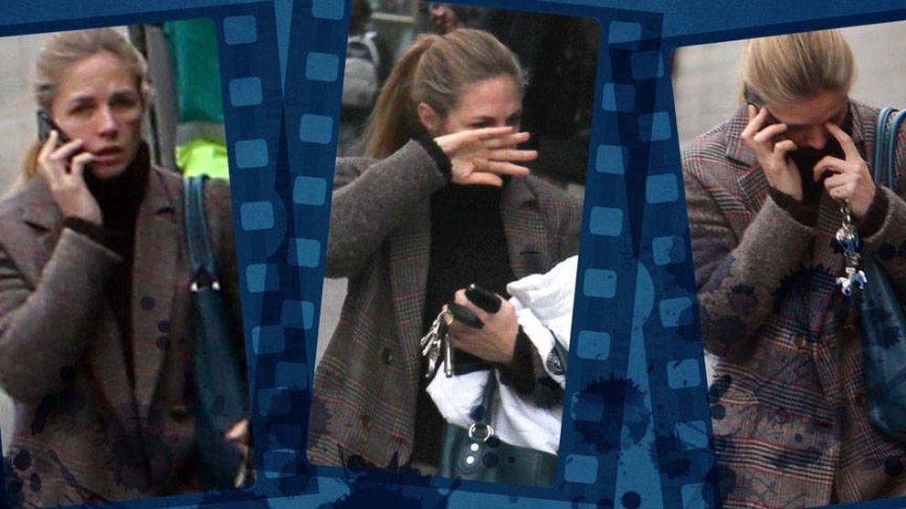 Las fotos nunca vistas de Genoveva Casanova llorando por la calle