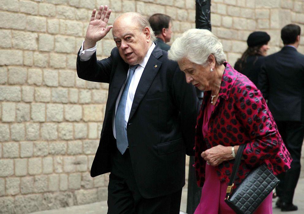 Foto: El expresidente de la Generalitat Jordi Pujol y su mujer, Marta Ferrusola. (EFE)
