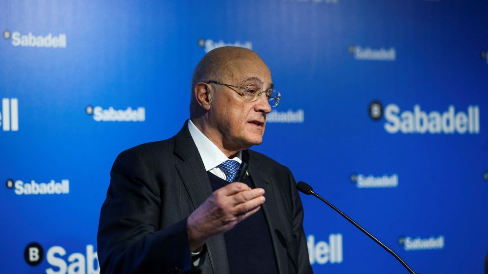 Foto: Josep Oliu, presidente de Banco Sabadell.
