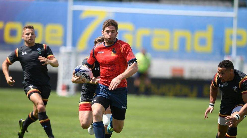 Foto: El Seven de España ganó a Gales en el Campeonato de Europa.