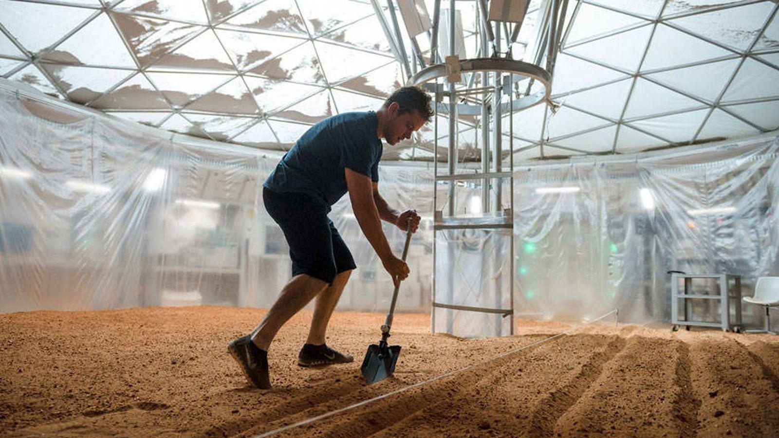 Foto: Fotograma de la película 'The Martian'