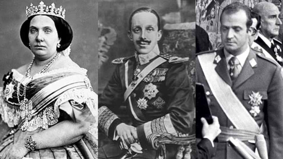Los exilios de la casa Borbón