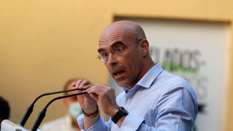 Foto: El vicepresidente de Acción Política y eurodiputado de Vox, Jorge Buxadé. (EFE)
