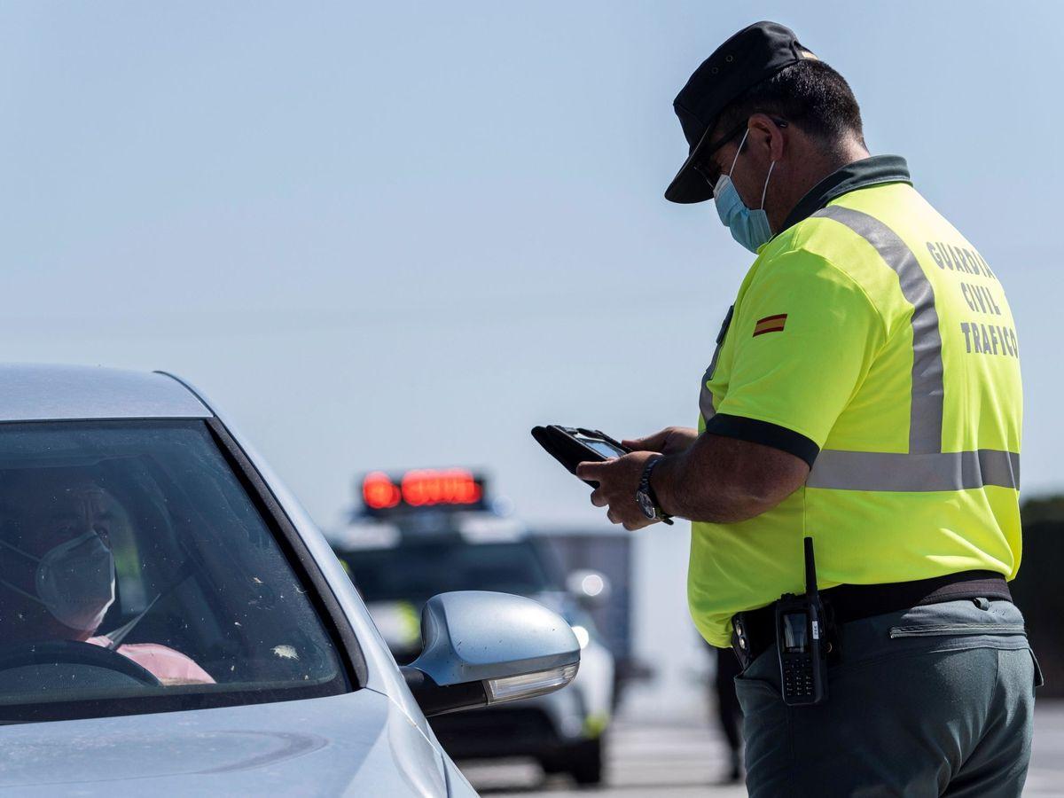 Foto: Campaña de control de velocidad. (EFE)