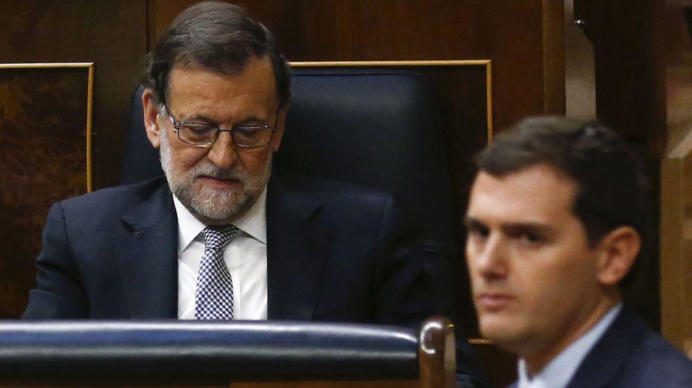 Foto: Mariano Rajoy y Albert Rivera en el Congreso, el pasado 2 de marzo. (Reuters)