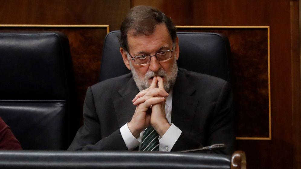 Foto: Mariano Rajoy, durante la última sesión de control al Gobierno. (EFE)