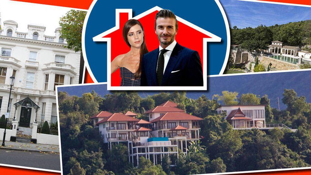 Inmobiliaria Beckham SA: las múltiples propiedades del matrimonio