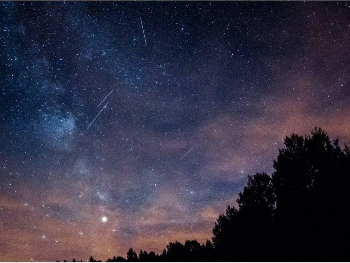 Foto: Lluvia de estrellas. Foto: Unsplash
