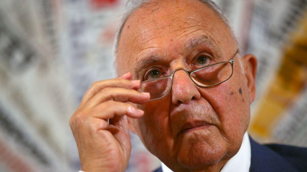 Foto: El ministro de Asuntos Europeos italiano, Paolo Savona. (Reuters)