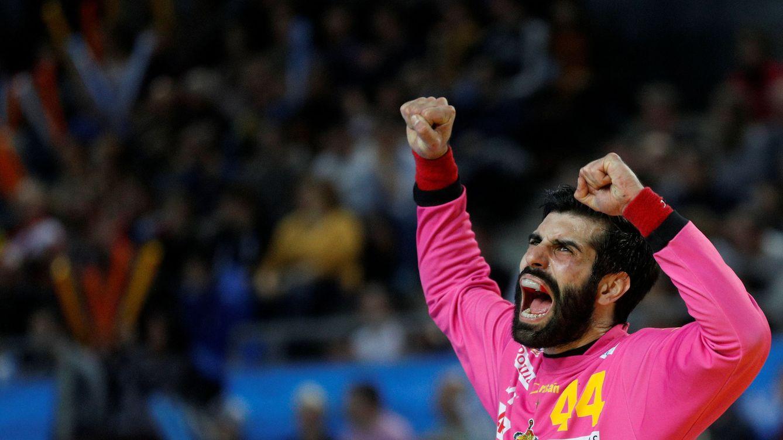Foto: Rodrigo Corrales fue uno de los destacados del equipo español (Vincent Kessler/Reuters)