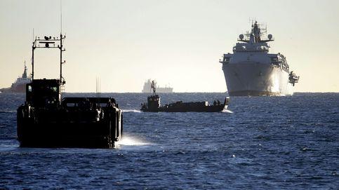 Gibraltar acusa a la Guardia Civil de poner en 'serio' peligro un submarino británico