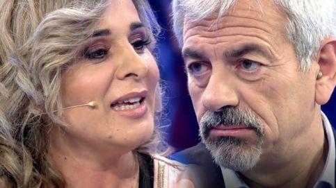 El 'coqueteo' de Ana María Aldón con Carlos Sobera en 'Volverte a ver'