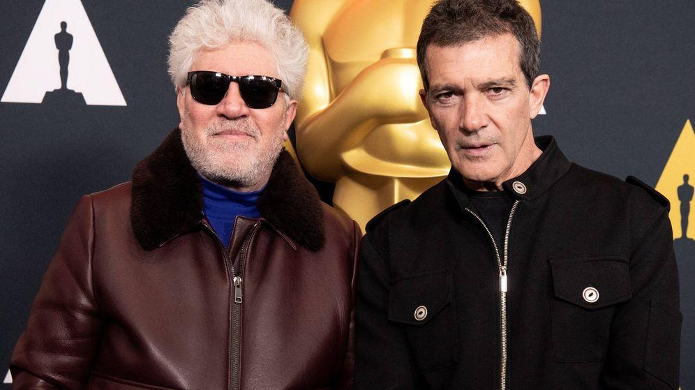 Foto: Almodóvar y Banderas, tranquilos ante los Oscar. (EFE)