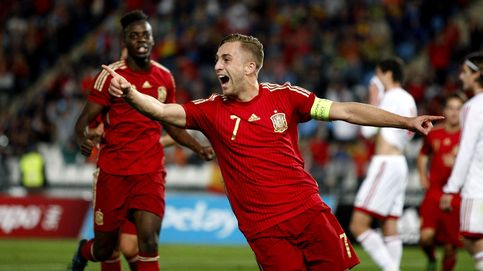 Deulofeu se exhibe con un 'hat-trick' en la goleada de la sub-21 a Georgia