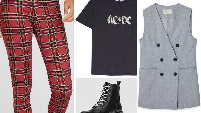 Te dejamos un outfit para tu inspiración chic-grunge. (Cortesía)