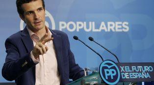 Rajoy y Moragas presentan el nuevo rostro del PP