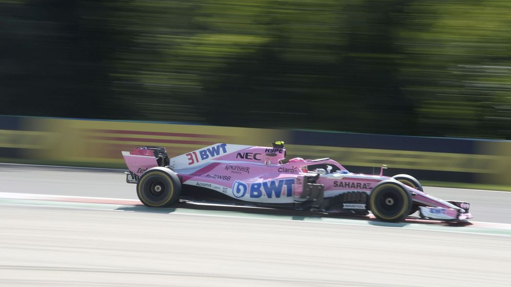Foto: Force India en claro riesgo de desaparición. (EFE)