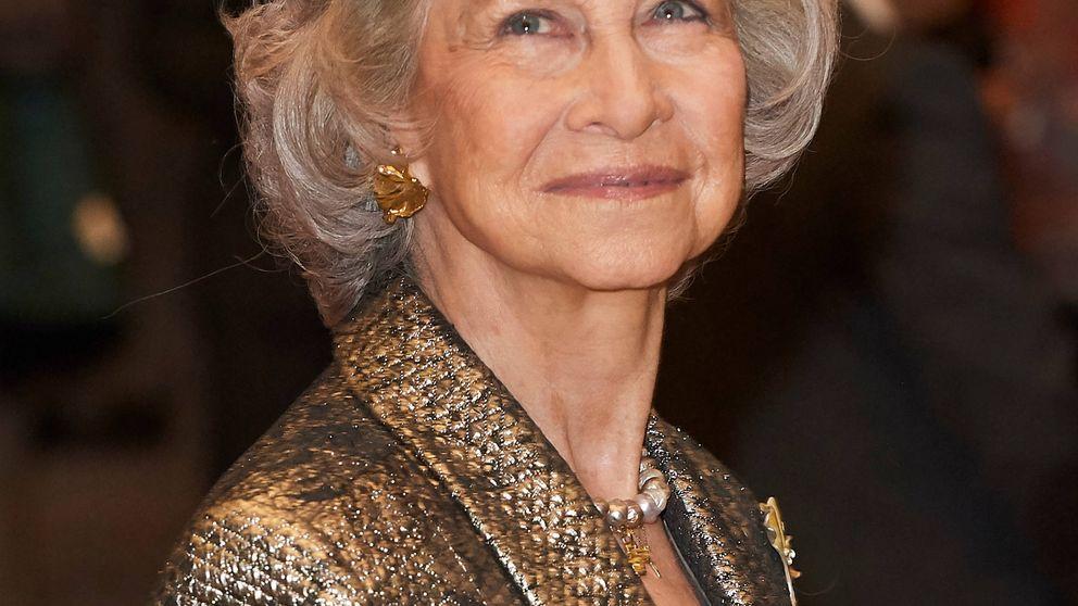 Doña Sofía brilla (literalmente) en su gran noche: aplausos y un toque moderno
