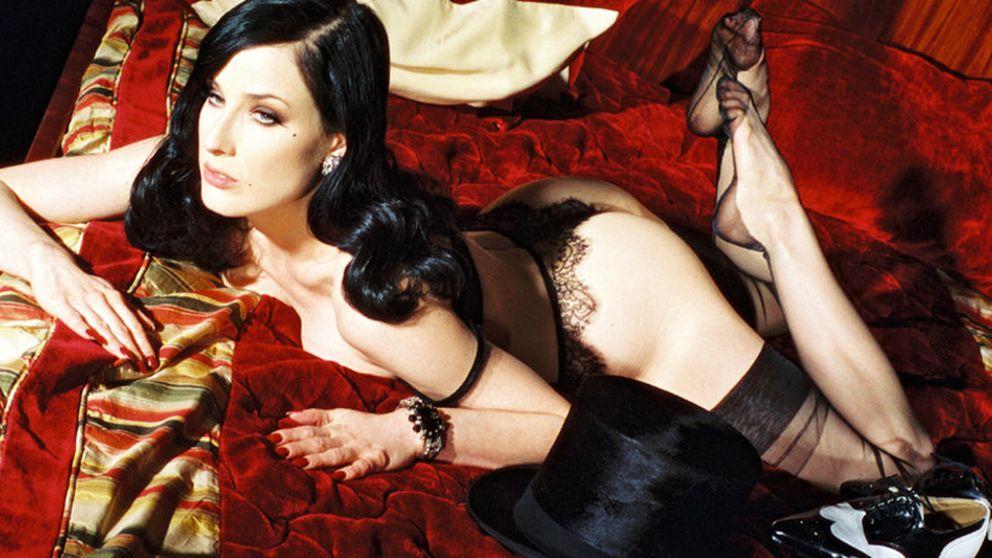 Una limusina blanca, no hablar de Marilyn Manson.... y otras exigencias de Dita von Teese en Madrid
