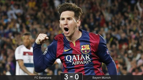 El Barça de Messi aniquila al Bayern de Guardiola con dos goles en tres minutos