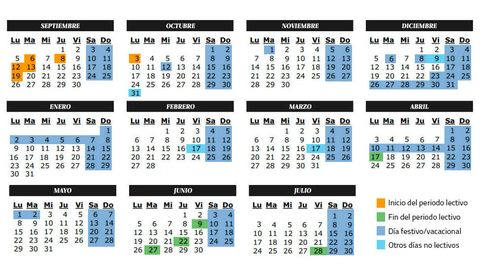 ¿Fiesta el 7 y 17 de abril? Sí, son no lectivos en Madrid y en estas otras comunidades