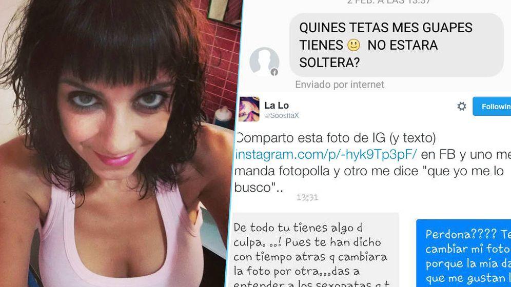 Foto: Loreto Amorós sufre acoso tanto de hombres que quieren tener sexo con ella como de aquellos que la insultan por sus opiniones sobre política o feminismo.
